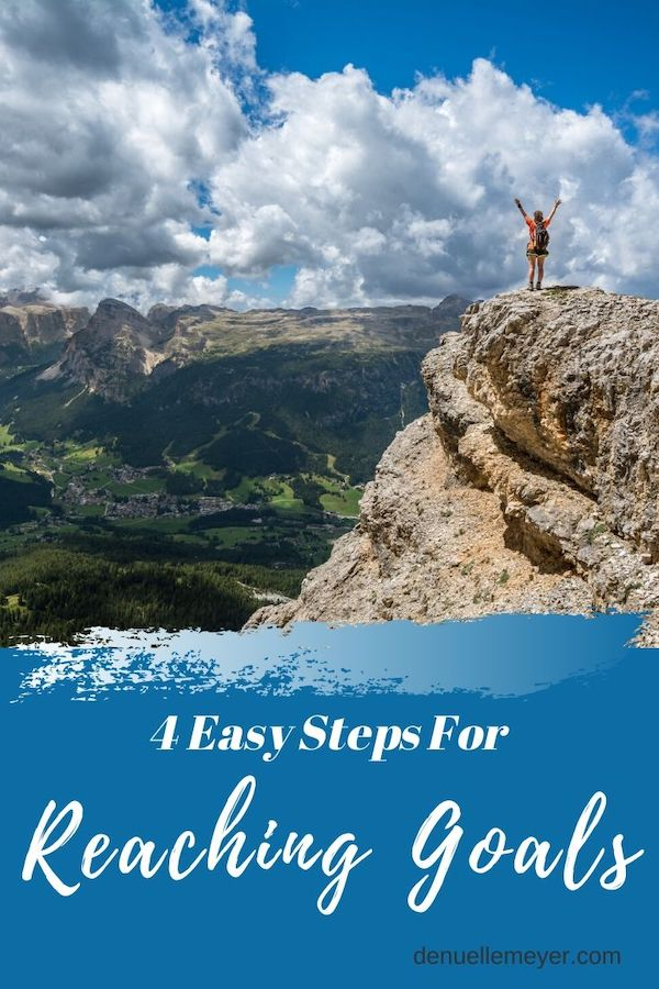 Reaching goals using Kaizen in 4 easy steps. Don't give up on your goals, you can accomplish them! Click through to learn more :) Do Well, Be Well, Live Well! Pin now, read later!!  #kaizen #goals #stress #anxiety #dreams #fitmind