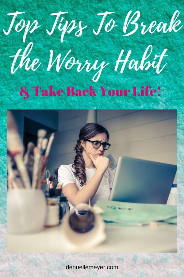 Break the Worry Habit & Learn to Guard Your Mind. Click through to learn more :) Do Well, Be Well, Live Well, The Weekly Well- Weekly inspiration to live YOUR best life! Pin now, read later!! #worry #youmatter #fitmind #liveyourbestlife #stress #anxiety