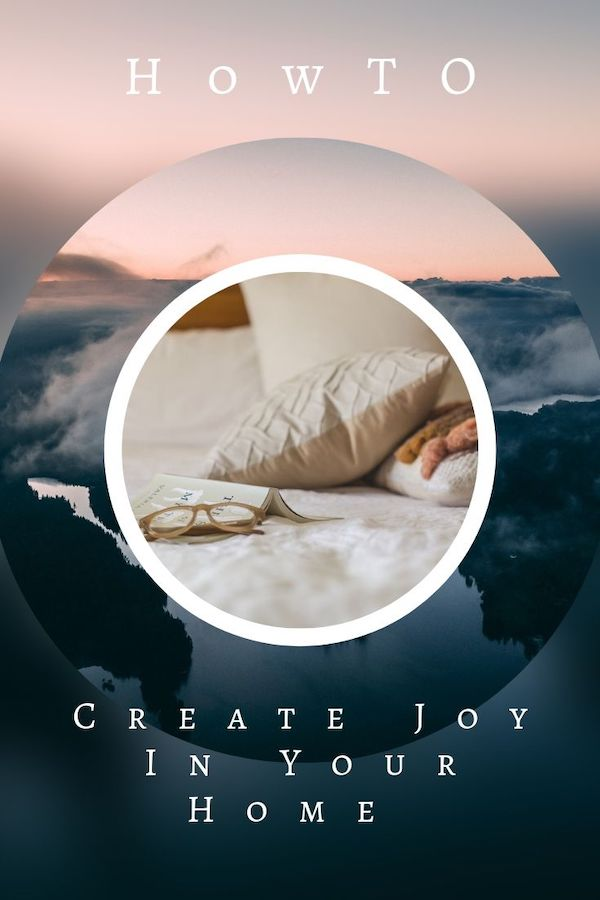 Take my challenge this week and learn how to create joy in your home. Click through to learn more :) Do Well, Be Well, Live Well, The Weekly Well- Weekly inspiration to live YOUR best life!