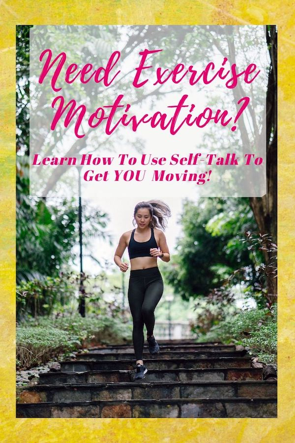 Need some exercise Motivation? Join me this week at The Weekly Well, where I share how I battled some severe exercise blockage with positive self-talk and came through worry and anxiety-free!  Click through to learn more :) Do Well, Be Well, Live Well The Weekly Well- Weekly inspiration to live YOUR best life!  Read now, pin later! #exercise #exercisemotivation #stress #stressfree #anxiety #selftalk