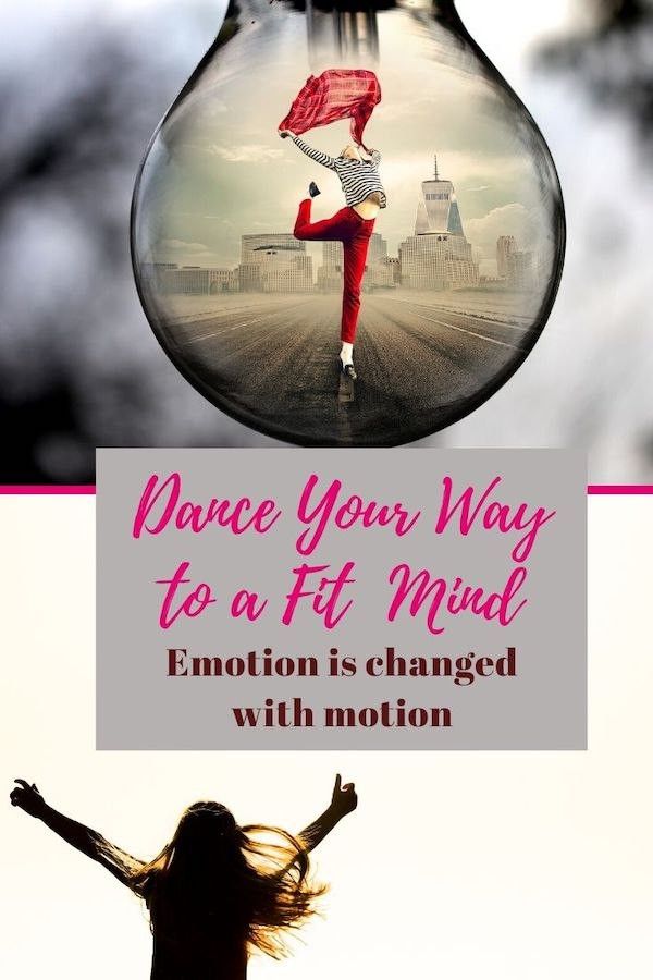 Emotion is changed with motion. Dance away stress and overthinking! Click through to learn more :) Do Well, Be Well, Live Well, The Weekly Well- Weekly inspiration to live YOUR best life! Pin now, read later. #stressrelief #dance #danceisexercise #overthinking #fitmind