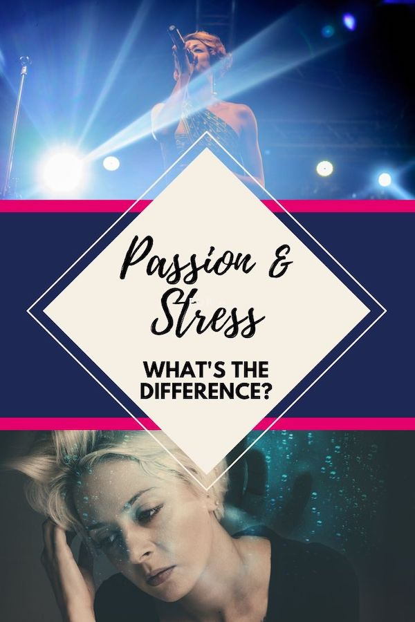 Passion and stress- What's the difference? Find out how to not work so hard at things that don't really matter to you…and frankly cause you stress. Click through to learn more! The Weekly Well- Weekly inspiration to live YOUR best life. Pin NOW, Read LATER #fitmind, #stressrelief #anxiety #liveyourbestlife #passion #stress #stuck
