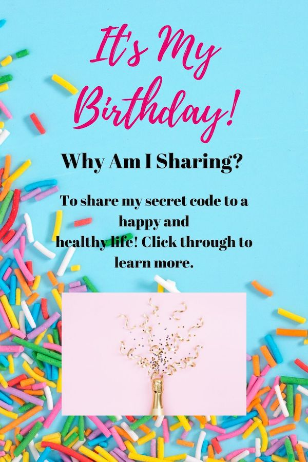 It's my birthday! I am not sharing so I can get virtual confetti and balloons (although those are nice!). I am sharing because I am so damn happy and full of gratitude. Here's the thing, I have cracked the code on living a happy and fulfilled life and I want to share it with you! Click through for the full story! Pin now, read later. #fitmind #stress #lifecoach