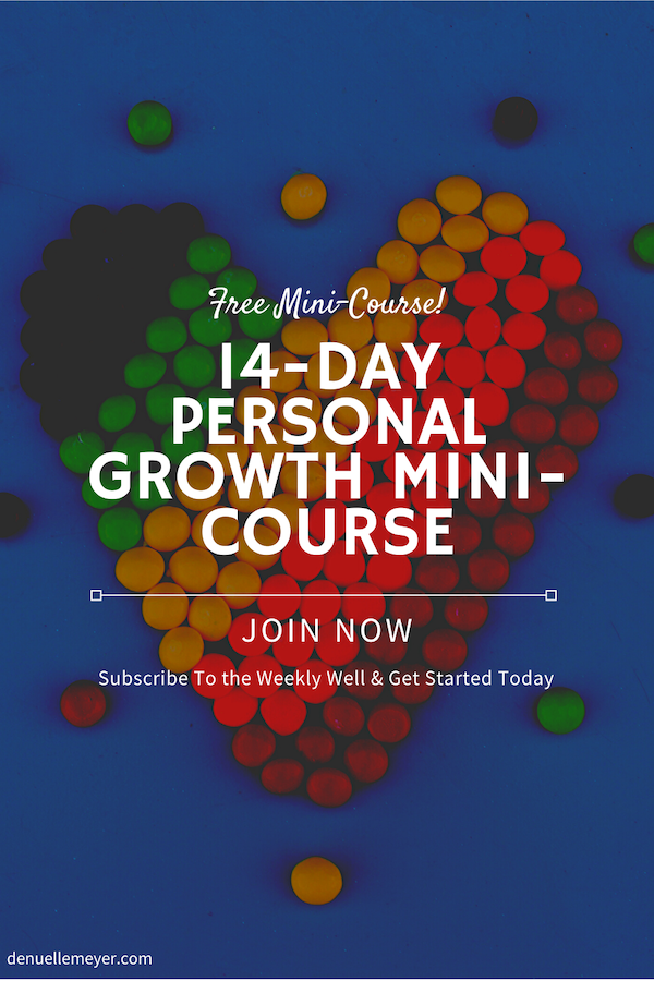 I've been thinking a lot about how I can best serve you during this uncertain time~ So, as a gift for you, I have put together a free 14-Day Personal Growth Mini-Course. This Mini-Course is going to include bite-sized nuggets of coaching for you to chew on, digest, and develop over the next couple of weeks. Click through to subscribe to The Weekly Well and get started today! #stress #anxiety #lifecoach #fitmind
