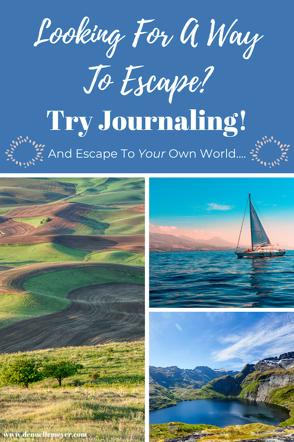 """If you are looking for a wonderful and free way to escape, kick your health up a notch, and reduce your stress, I want to introduce you to journaling. Journaling is a safe way to """"talk"""" about your feelings. gain you invaluable insight, and truly grow your overall feelings of wellbeing. Click through to read my latest blog and learn more about how journaling can benefit you right now! #stressrelief #selfcareathome #positivechange #lifecoach #fitmind #relax"""